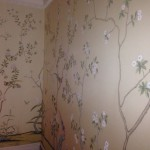 London house wallpapering